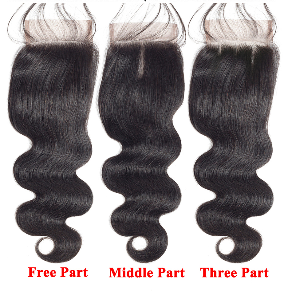 three middle free part closure