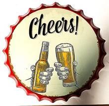 Знак Ретро ура холодной бутылка пива кепки в стиле ретро металлическая