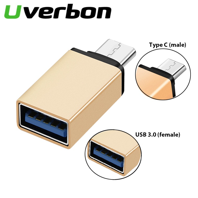 USB 3.0 Type C OTG Adapter USB C Converter For Samsung S9 S10 MacBook Pro Type-C OTG Adaptator For Mouse Keyboard USB Disk Flash