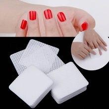 Для удаления лака для ногтей УФ-гель салфетки Ватные диски очиститель ногтей 200/400 шт безворсовые салфетки ногтей салфетки для маникюра супе...