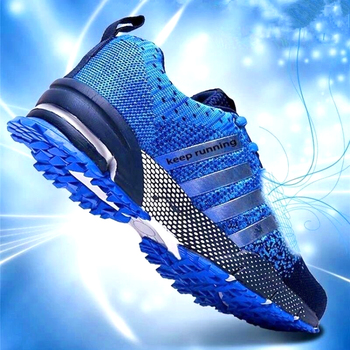 New 2020 Men Running Shoes Breathable Outdoor Sports Shoes Lightweight Sneakers for Women Comfortable Athletic Training Footwear new running shoes breathable outdoor male sports shoes lightweight sneakers women walking gym training shoes