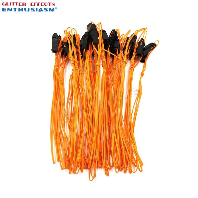 100 pz/lotto 1m di Filo di Rame di Colore Arancione Talon Cavo di Accensione per i Fuochi D'artificio Sistema di Dispositivo di Cottura