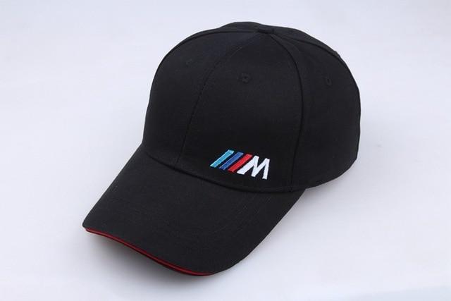 Men Fashion Cotton Car logo M performance Baseball Cap hat for BMW M3 M5 3 5 7 X1 X3 X4 X5 X6 330i Z4 GT 760li E30 E34 E36 E38 1