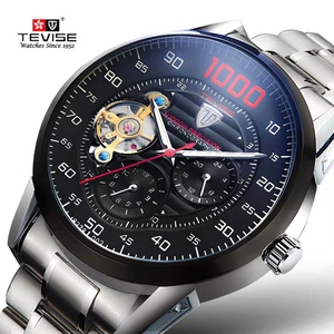 TEVISE Automatic Watch Men Fas