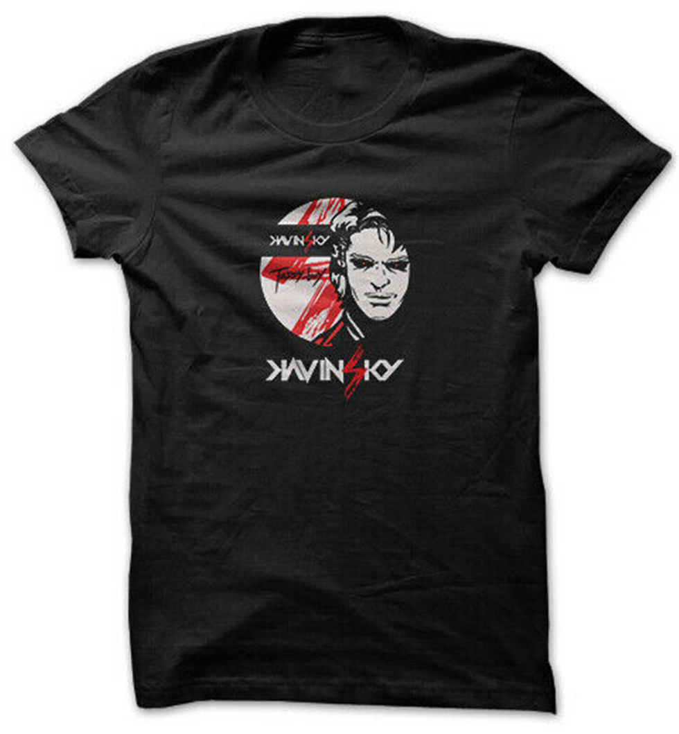 Kavinsky <font><b>Daft</b></font> <font><b>Punk</b></font> - <font><b>T</b></font> <font><b>Shirt</b></font> Tee Black All Size Harajuku Tops Fashion Classic Tee <font><b>Shirt</b></font> image