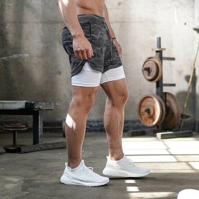 Hommes Dété Natation Short Tenue de Jogging En Cours Dexécution Gym Sport Respirant Fitness Short