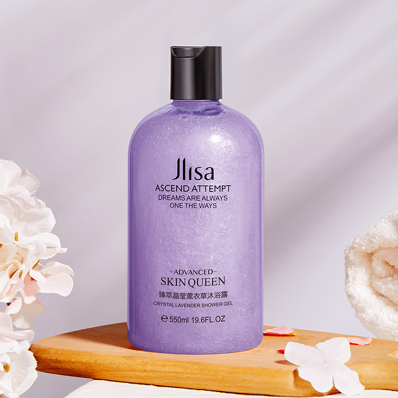 Mylinsa's Crystal Lavender Shower Gel Is Gentle And Delicate And Clean Moisturizes The Skin's Long-lasting Fragrance Shower Gel