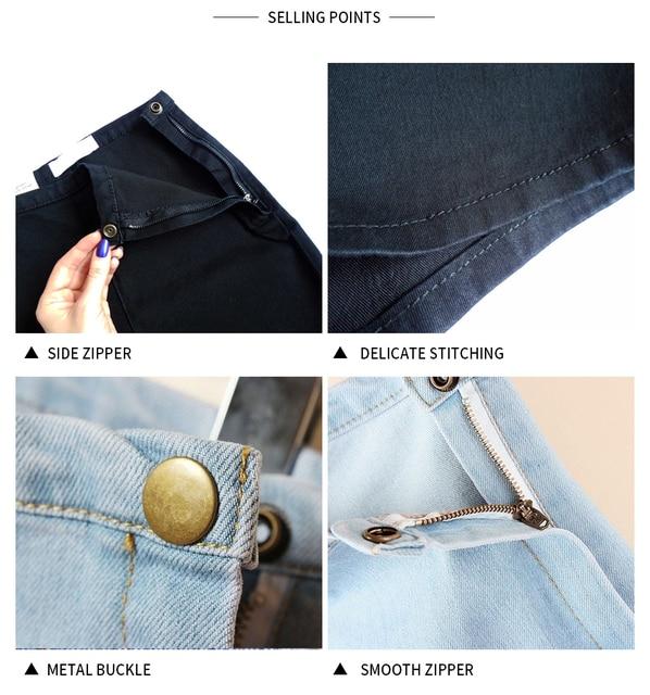 GOPLUS Shorts Summer Denim Shorts Women High Waisted Blue Black White Jeans Shorts Vetement Femme 2021 Spodenki Damskie C1078 4