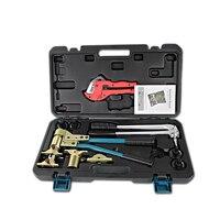 Rohr Spann Werkzeug Rohr expansion werkzeug PEX-1632 Palette 16-32mm verwendet für REHAU Armaturen gut erhalten Rehau Sanitär werkzeug