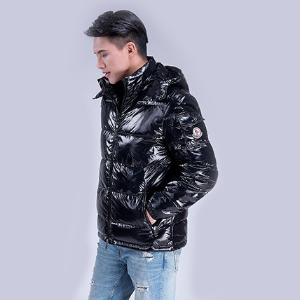 Down   jacket male 2019 winter warm thick fashion European and American jacket short bright bread men   down     coat   men outerwear