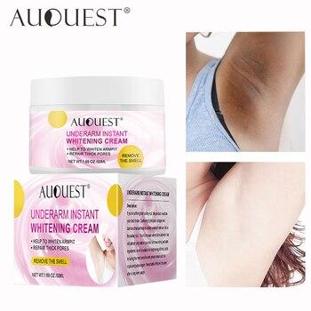 AUQUEST Body Whitening Cream Underarm Armpit Knee Dark Spot Cream Skin Brighten Moisturizing Body Care Cosmetics for Women Men 1
