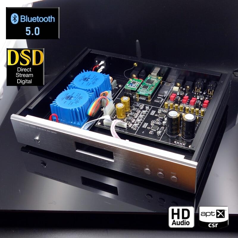WEILIANG AUDIO DC-100 Dual Core AK4497EQ DAC Decoder Amanero USB Interface CSR8675 Bluetooth 5.0