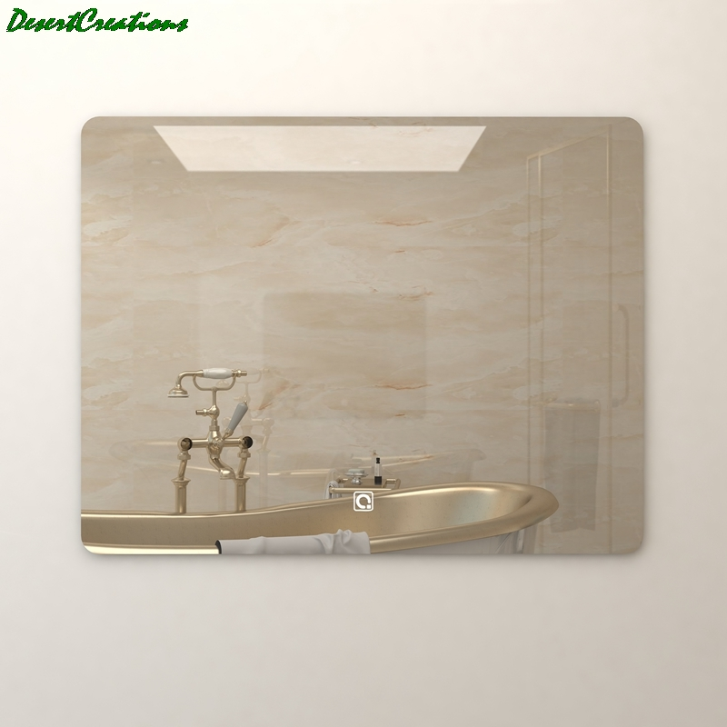 Morden Wall Mounted Mirror Bathroom Vanity LED Lighted Mirror For Making Up 1