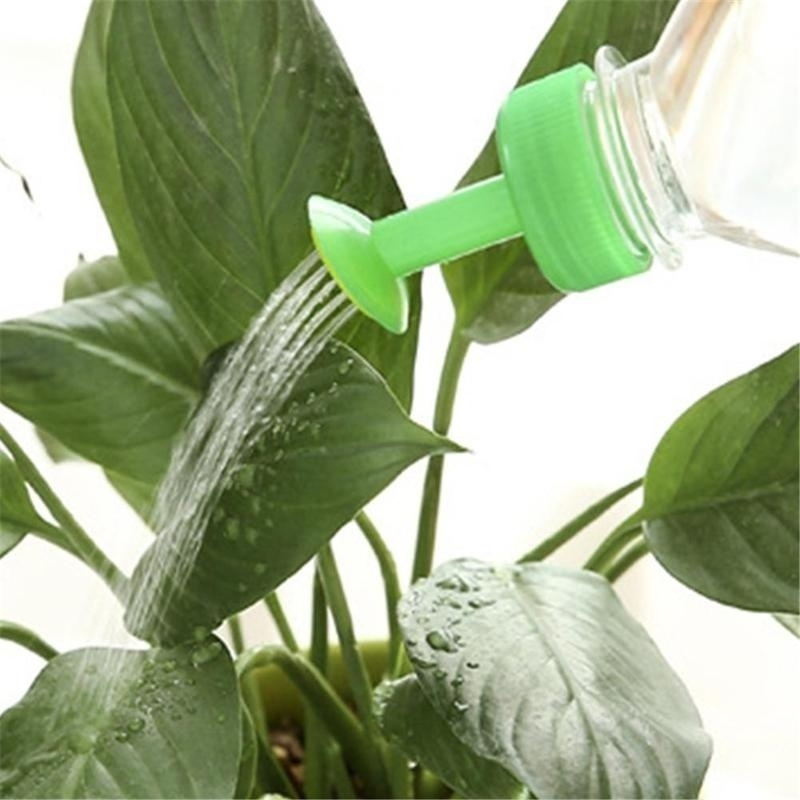 Hb25e1ebcd5ea44b9aa0d4884d32a7376q 3pcs Gardening Plant Watering Attachment Spray-head Soft Drink Bottle Water Can Top Waterers Seedling Irrigation Equipment