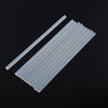 10Pcs/lot  7mm x 200mm Hot Melt Glue Sticks For Electric Gun Craft Album Repair Tools Alloy Accessories