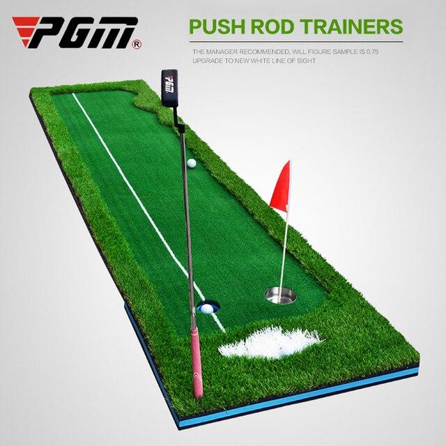PGM גולף עיסוק שמיכת מאמן גולף להתבטל סט ירוק Fairway עגלת גולף עבור משרד בחצר האחורית גולף עזרי הדרכה