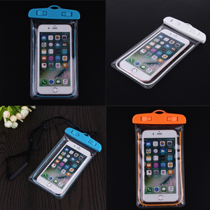 Waterproof Bag with Luminous Underwater Pouch Phone Case For iphone 6 6s 7 Portable Waterproof Swimming Storage Bag