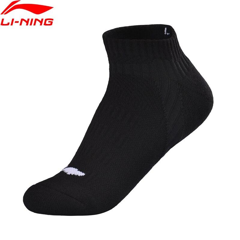 Li-Ning Unisex Men&Women Training Socks SIZE 39-46 LiNing Li Ning Breathable Comfort Sports Socks AWSQ024 NWM471