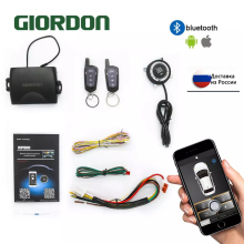Car-Alarm-System-Kit Smartphone-Control Auto-Central-Locking PKE Keyless Remote-Button-Mp900a