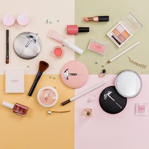 Image 5 - Youpin jordan & judy hd led espelho de maquiagem cor luz mini controle toque portátil sensing espelho cosméticos beleza maquiagem ferramenta