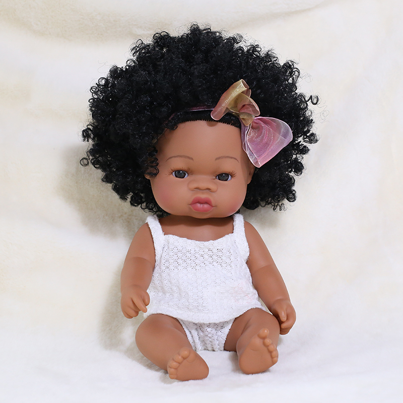 35CM Bebe Reborn Baby Doll Toys For Girls Full Body Silicone Dolls Boy Cute Fashion Toddler Play House Doll For Children Gifts