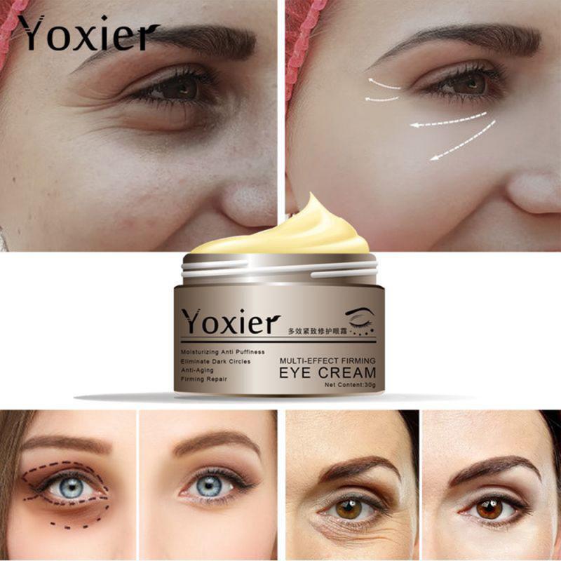 Snail Eye Cream Repair Dark Circle Hyaluronic Acid Moisturizing Anti-Wrinkle Eye Care Essence Cream Whitening Eye Care TSLM1