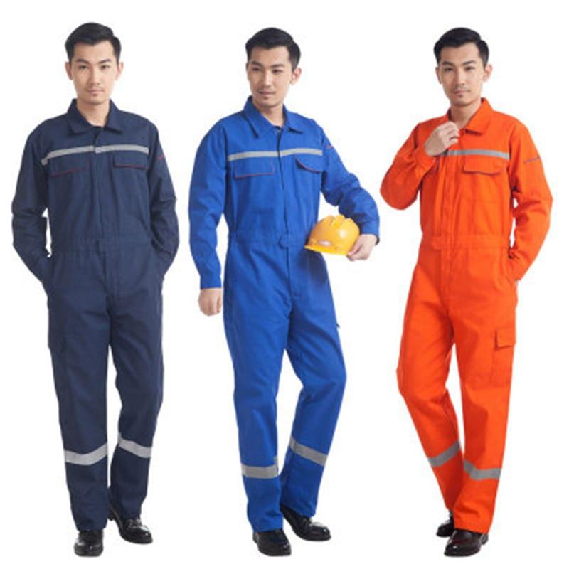 100% kiváló minőség gyári ár hivatalos áruház Hot Sale #826ef - Woman Men Work Overalls Working Uniforms Spring ...