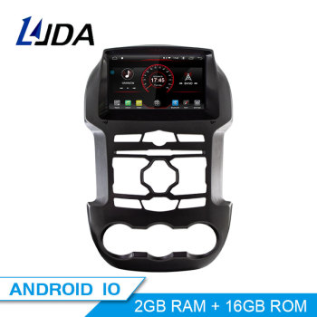 LJDA Android 10 Car DVD Player For Ford Ranger 2011-2015 GPS Navigation 2 Din Car Radio Multimedia WIFI Stereo IPS Headunit RDS
