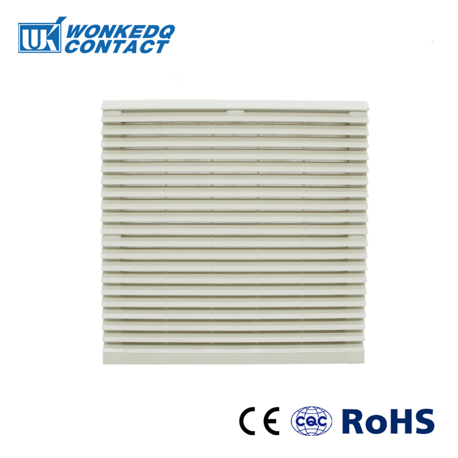 Cabinet  Ventilation Filter Set Shutters Cover Fan Waterproof Grille Louvers Blower Exhaust FK-9805-300 Filter Without Fan