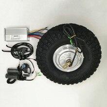 24V 36V 48V 350W 500 Вт электрическая тачка Шестерни мотор высокой проходимости электрическая тачка комплект тачки по бездорожью грубой шины 14,5 дюй...