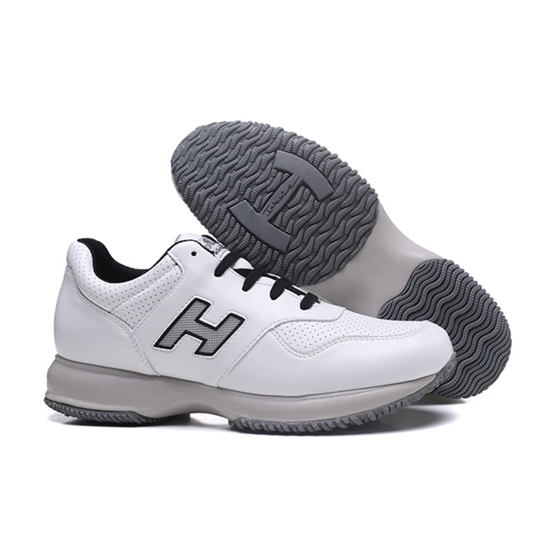Hogan Men's Outdoor Vulcanized Shoes Athletics Jogging Sneaker Breathable Casual Walking Platform Shoes Men Trainers Footwear