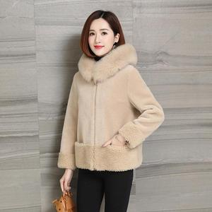 Image 4 - Giacca da donna in pelliccia di montone imitazione giacca invernale nuova pelliccia di volpe una pelliccia sciolta
