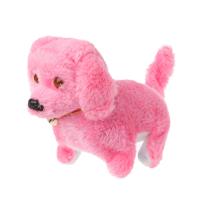 Fashion Walking Barking Toy High Quality Funny Electric Short Floss Dog 634F