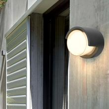 5W 110-240V LED Wall Light IP65 Waterproof Outdoor Cylinder-Shaped Lamp Europe Style Warm White Or For Gard Road