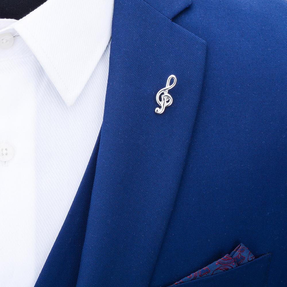 Купить мужская брошь в форме нот savoyshi лацкана аксессуар для одежды