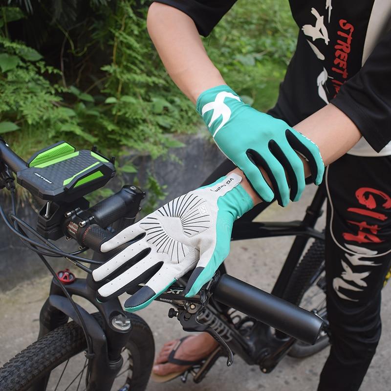 VG sports cycling gloves  gel touch screen Anti-slip bike gloves Leica fabric