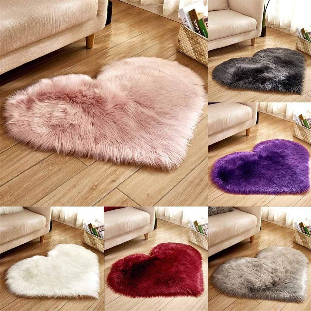 Super Soft Faux Sheepskin Fur Area Rugs