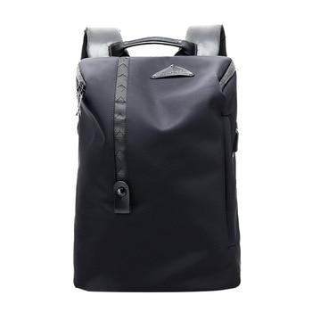 2019 Nylon Waterproof Casual Men Backpack USB Charging Travel Outdoor Sports Backpack Large Capacity Wear-resistant Student Bag