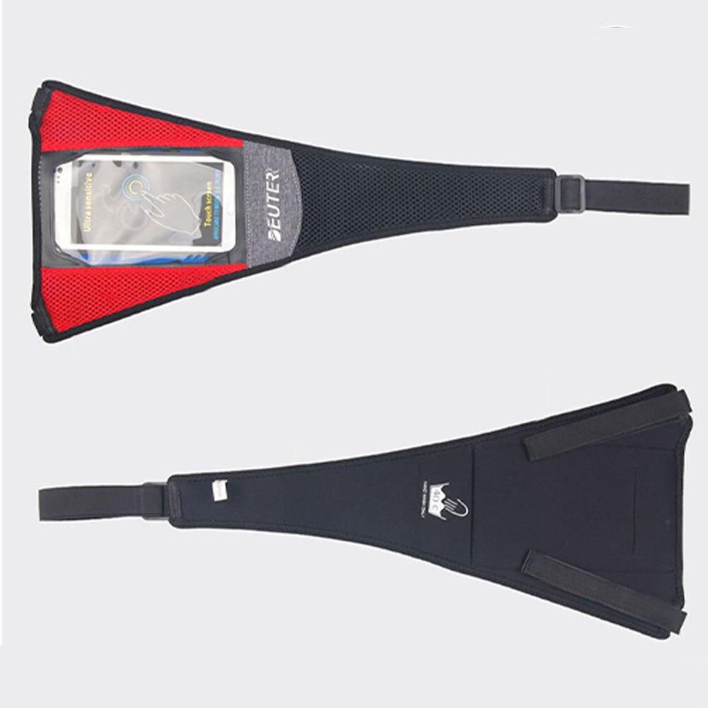 Net cyclisme équitation vélo bandeau cadre garde bande sueur absorber la couverture avec téléphone pochette bande Sports d'intérieur Portable gymnase