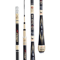 4H 5H 6H Hard Taiwan Fishing Rod Black Pit Carp Fishing Poles Hand Olta Carbon Fiber Fishing Canne De Pesca Fishing Tackle