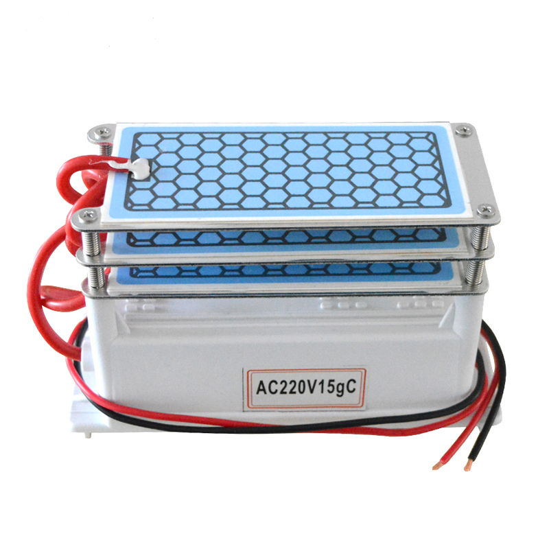 220V Ozone Generator Part 36g/28g/24g/20g/15g/10g with Ceramic Plate Ozonator Long Life Ozono For Chemical Factory Disinfect