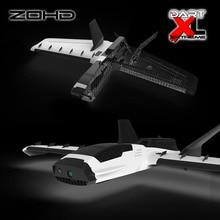 Новое поступление ZOHD Dart XL Экстремальный 1000 мм размах крыльев BEPP складывающийся гексакоптер FLV RC Самолетная фара вес летающее крыло наружные игрушки