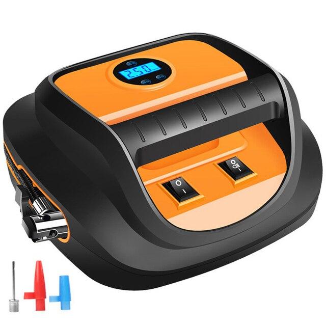 Voiture Portable pompe à Air 12V Automobile pneu rapide gonfleur Mini électrique Auto pour voiture LED affichage numérique compresseur dair