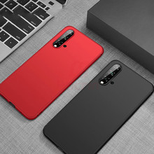 Hacrin Case for Huawei Honor 20 Pro Anti-Fingerprint Shockproof Bumper Cover Slim Frosted Matte