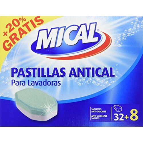 MICAL Descaling Tablets For Washing Machines–20% Free–32+ 8Pills–[Pack Of 5]