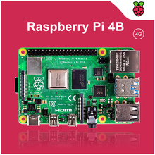 Official raspberry pi 4 model b 4GB RAM Development Board 1.5GHz Support 2.4/5.0 GHz WIFI Bluetooth 5.0 raspberry pi 4 4gb