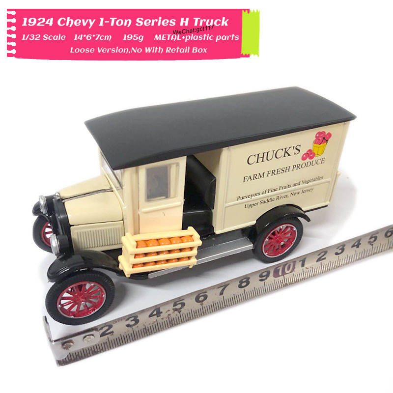 1/32 Scale Car Model Toys 1924 Chevy 1-Ton Series H Truck Diecast Metal Car Model Toy For Collection,Gift,Kids