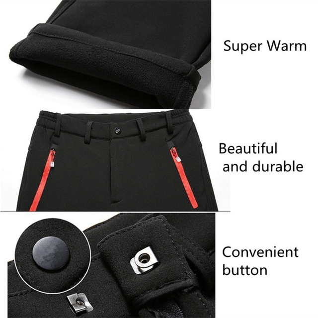 Men Winter Outdoor Pants 2020 Casual Trekking Hiking Windproof Summer Mens Trousers Warm Plus Size Camping Climb Run Male Pants 6