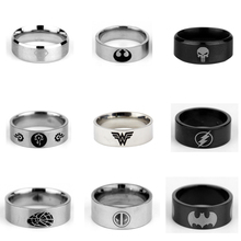 3 Colors Cosplay Game Jewelry The Legend of Zelda Stainless Steel Ring 17-23 game the legend of zelda cosplay accessories necklace pendants weapons vintage pendants for women man xmas gift