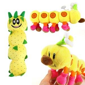 2 стиля 25-27 см Super Mario Bros Wiggler гусеница плюшевые игрушки Кактус подвеска плюшевая кукла